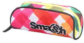 Smash 1 Division Tube Pencil Case - Orange & Yellow
