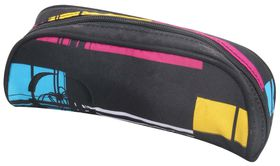 Spider 1 Division Tube Pencil Case - White & Yellow