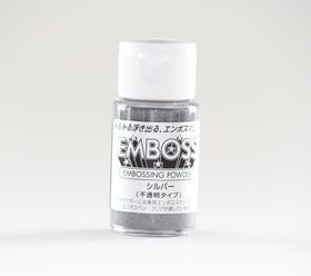 Tsukineko Embossing Powder Silver - 29.5ml