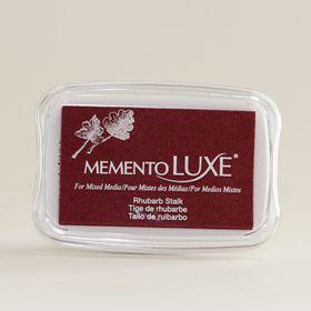Tsukineko Memento LUXE Ink Pad - Rhubarb Stalk