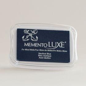 Tsukineko Memento LUXE Ink Pad - Nautical Blue