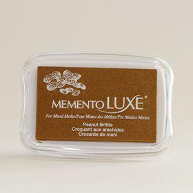 Tsukineko Memento LUXE Ink Pad - Peanut Brittle
