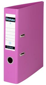 Donau Lever Arch File A4 75mm - Pink