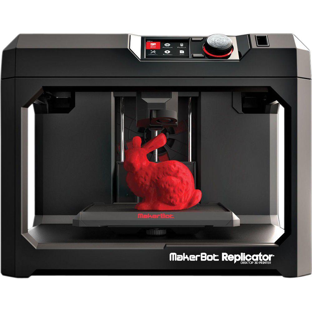 Makerbot Replicator Desktop 3d Printer Loading Zoom
