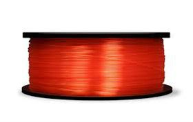 MakerBot PLA Filament Large Spool - Translucent Orange