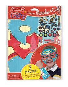 Melissa & Doug Simply Crafty - Superhero Masks & Cuffs