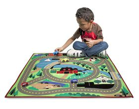 Melissa & Doug Road Rug - 4ft by 3 ft