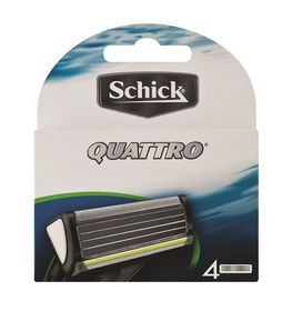 Schick Quattro New And Improved - 4's