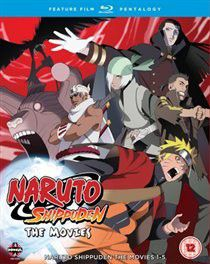 Naruto - Shippuden: Movie Pentalogy (Import Blu-ray)