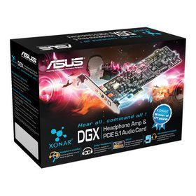 Asus Xonar DGX PCI-Express 5.1 Sound Card