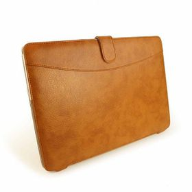 "Tuff-Luv Faux Leather case cover for MacBook Pro Retina 15"" - Brown"