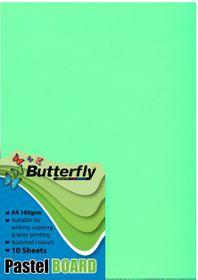 Butterfly A4 Pastel Board 10s - Green