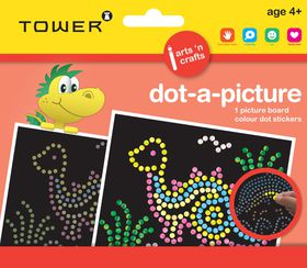Tower Kids Dot-A-Picture - Dinosaur