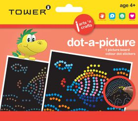 Tower Kids Dot-A-Picture - Fish