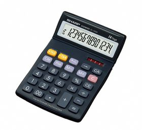 Sharp EL-145T Desktop Calculator