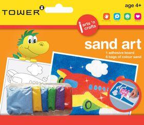 Tower Kids Sand Art - Aeroplane