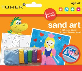 Tower Kids Sand Art - Princess