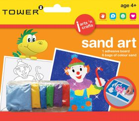 Tower Kids Sand Art - Clown