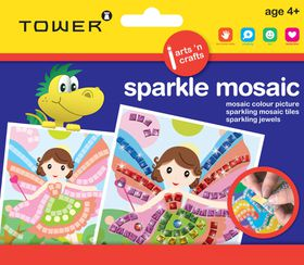 Tower Kids Sparkle Mosaic - Fairy