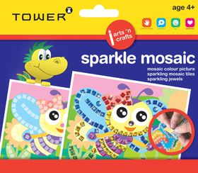 Tower Kids Sparkle Mosaic - Bee