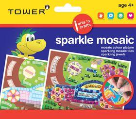 Tower Kids Sparkle Mosaic - Car