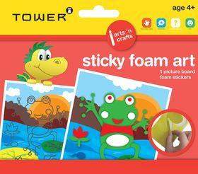 Tower Kids Sticky Foam Art - Frog