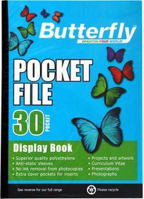 Butterfly Pocket File A4 - 30 Page