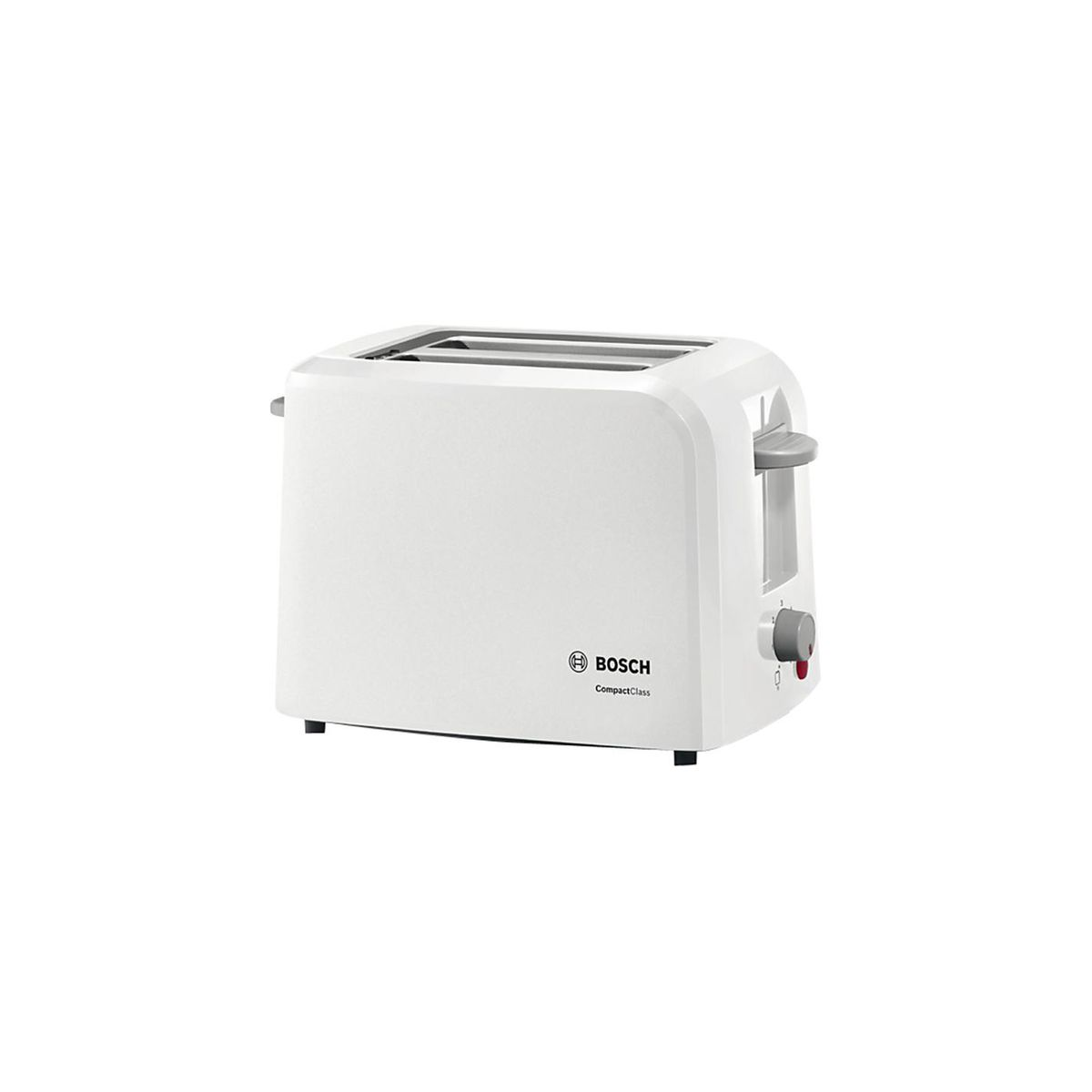 Bosch - 2 Slice Compact Class Toaster - White - TAT3A011 | Buy ...