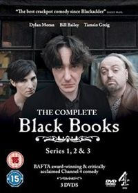 Black Books Series 1-3 (Import DVD)