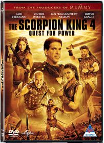 Scorpion King 4: Quest For Power (DVD)