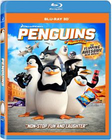 Penguins Of Madagascar (3D Blu-ray)