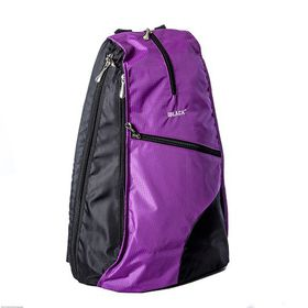 "BLACK Anytime Buddi Backpack 15.6"" - Purple"