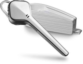 Plantronics Voyager Edge Bluetooth Headset with Recharge Case - White