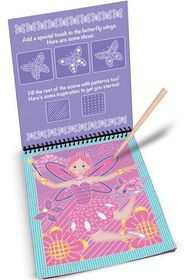Melissa & Doug Fairy Tales Colour - Reveal Pad