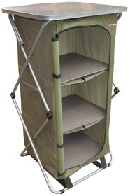Bushtec - Single Cupboard Hanging Shelf - Green