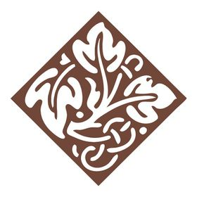 Couture Creations Vintage Rose Collection - Celtic Leaf (40 x 40mm)
