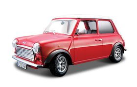 Bburago 1/32 Mini Cooper - Street Classics - Red