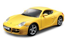 Bburago 1/32 Porsche Cayman S - Street Fire - Yellow