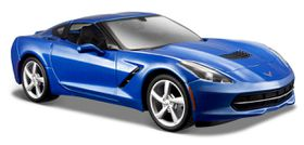 Maisto 1/24 Chev Corvette Stingray C7 Coupe 2014 - Blue