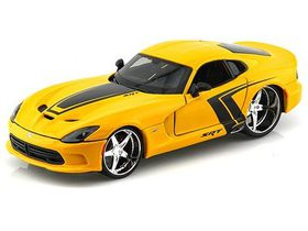 Maisto 1/24 Dodge Viper SRT GTS 2013 All-Stars - Yellow