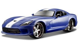 Maisto 1/24 Dodge Viper SRT GTS 2013 All-Stars - Blue
