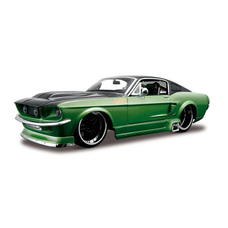 Maisto 1/24 Ford Mustang GT 1967 All-Stars Kit - Green & Black