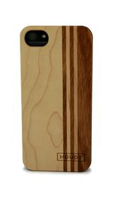 Houdt iPhone 5/5s Cover - Mixwood Vertical Case