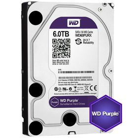 "WD Purple 6TB 3.5"" SATA 6Gb/s Internal Hard Drive"