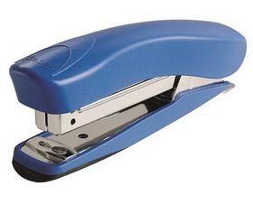 Rexel Juno 105 Half Strip Plastic Stapler & Built-In Staple Remover - Blue