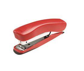 Rexel Juno 210 Full Strip Plastic Stapler & Built-In Staple Remover - Red
