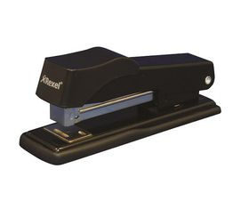 Rexel Standard 100 Half Strip Metal Stapler - Black