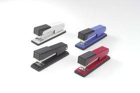 Rexel Standard 100 Half Strip Metal Stapler - Blue