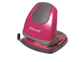 Rexel Easy Touch ET230 2 Hole Punch - Pink