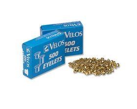 Rexel 5.5mm 500 Brass Eyelets